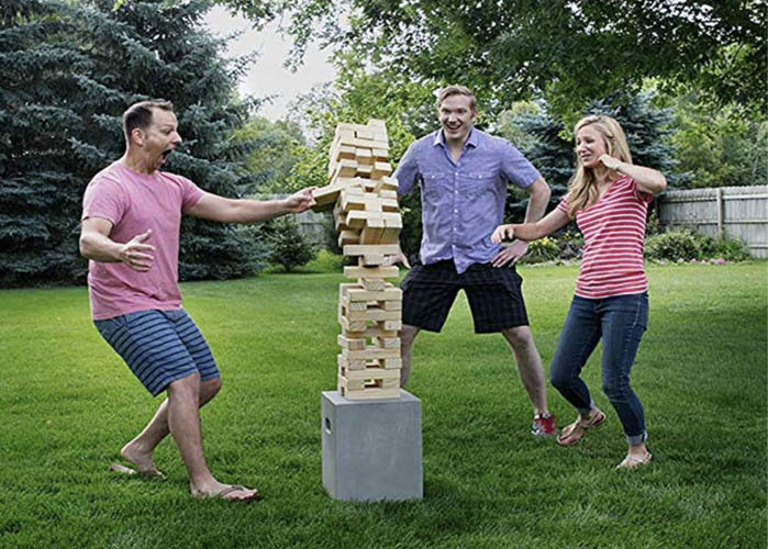 Giant Jenga - Tower Block Building Game - Tumble Tower Game