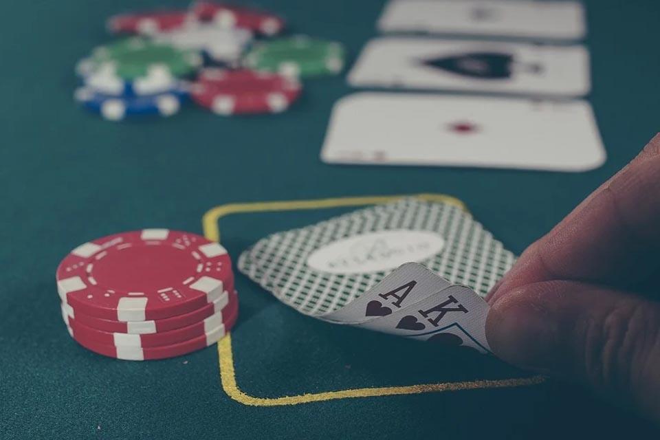 Blackjack Table Hire for Fun Casino Hire Evenings